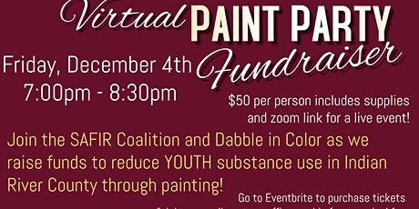 Virtual Paint Party Fundraiser tickets
