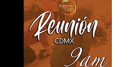 Reunión Bálsamo de Vida CDMX - 9:00 hr entradas