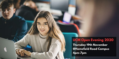 UCM Open Evening 2020 tickets