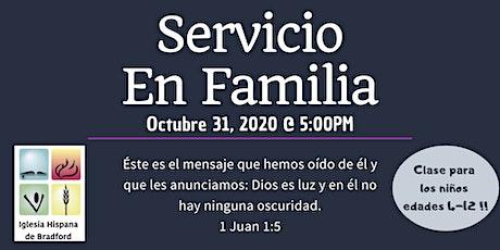 Servicio en Familia ingressos