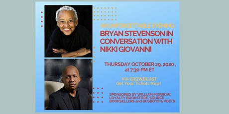 Bryan Stevenson in Conversation wit Nikki Giovanni tickets