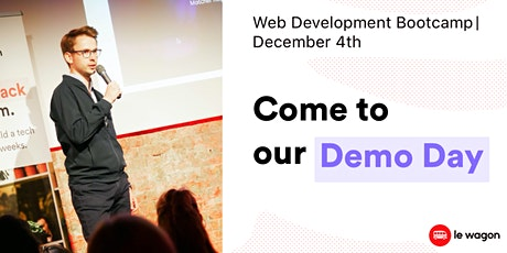 [Web Development Demo Day ] - Le Wagon Berlin - Batches #490 & #491 tickets