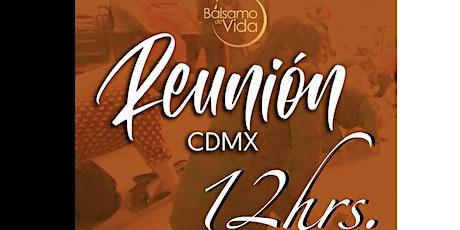 Reunión Bálsamo de Vida CDMX - 12 hr boletos