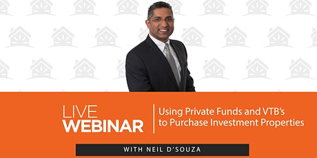Using Private Funds and VTB's to Purchase Investment Properties tickets