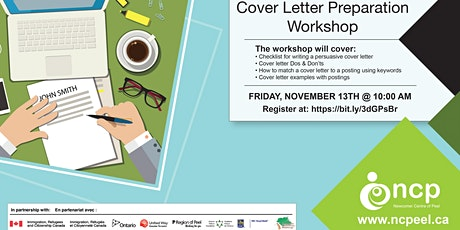 Cover Letter Workshop tickets