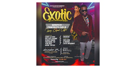 Exotic 2nd year anniversary.  WINTER FANTASY GALA. LUXURY ELEGANT AFFAIR tickets