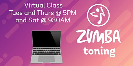 $1 Drop-in Zumba toning with Kathy tickets