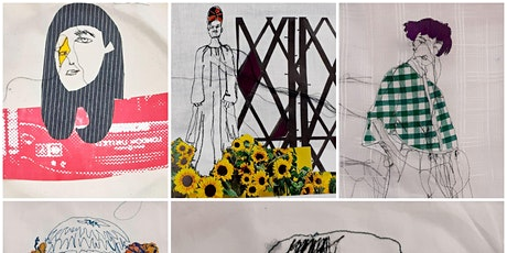 Illustrative Machine Embroidery with Rosie James (Jan) tickets
