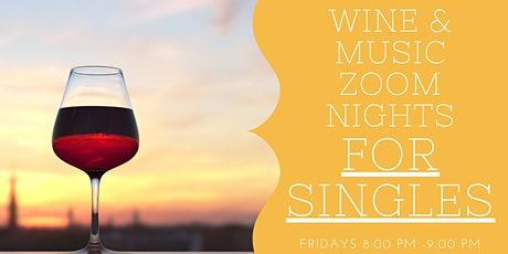 Friday Night Zoom Social for Single Men and Women tickets