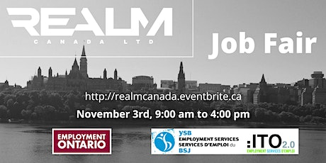 Realm Canada Recruitment Event tickets