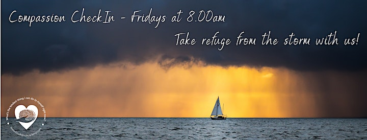 Free Friday Self-Compassion Checkin Hour image