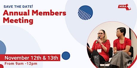 MIRA Annual Members Meeting tickets