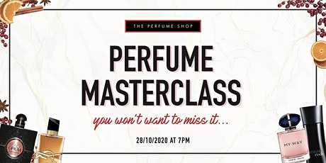 The Perfume Shop's Virtual Masterclass tickets