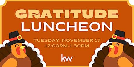 Gratitude Luncheon tickets