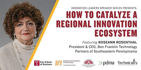 How to Catalyze a Regional Innovation Ecosystem tickets