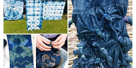 Blue Magic: Indigo Dye and Shibori with Deborah Manson (April) tickets