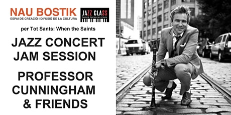 JAZZ CONCERT I JAM   PROFESSOR CUNNINGHAM & HIS OLD SCHOOL entradas