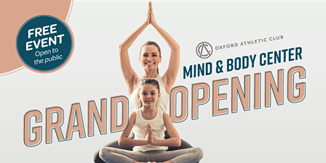 Mind & Body Center Grand Opening Event tickets