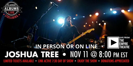 Classic Albums Live - U2 Joshua Tree tickets