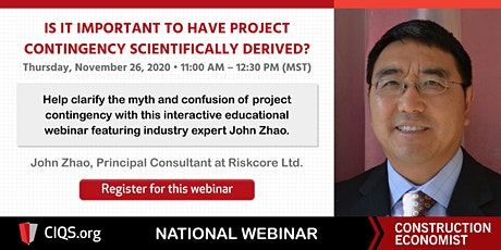 Is it Important to have Project Contingency scientifically derived? tickets