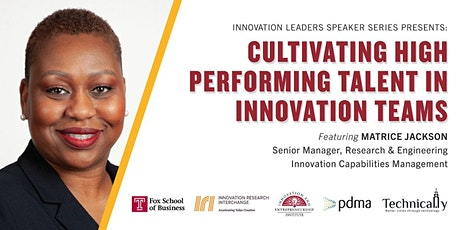 Cultivating High Performing Talent in Innovation Teams tickets