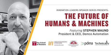Humans and Machines:Innovation & Growth in an Industrial Robotics Company tickets