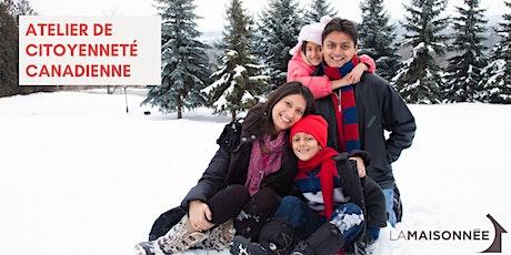 Atelier de citoyenneté canadienne tickets