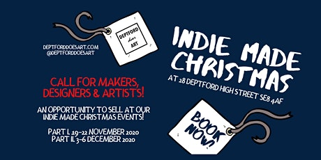 INDIE MADE CHRISTMAS | CALL FOR MAKERS!