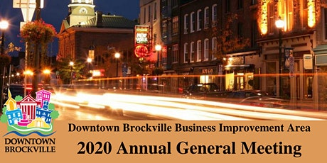 Downtown Brockville Business Improvement Area Annual General Meeting tickets