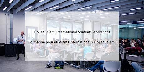 Eigth session: Hojjat Salemi International Students Workshops tickets