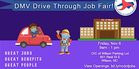 NCDOT DMV HQ Job Fair tickets