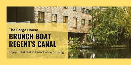 Brunch & Cruise- Breakfast in Bread on Canal Boat Deck tickets