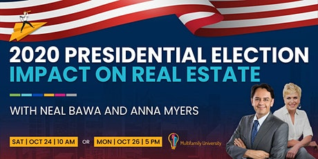 How will the 2020 Presidential Election Impact the Real Estate Industry? tickets