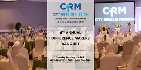 6th Annual Difference Makers Banquet tickets