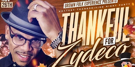 Thankful for Zydeco Part 2 tickets
