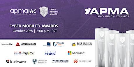 apmaIAC's Cyber Mobility Awards tickets