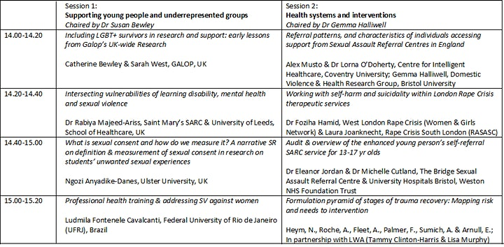 Sexual Violence and Health Research Network - Annual Research Day image