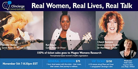 A Conversation featuring Women in Music! Real Women. Real Lives. Real Talk. tickets
