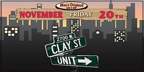Clay Street Unit tickets