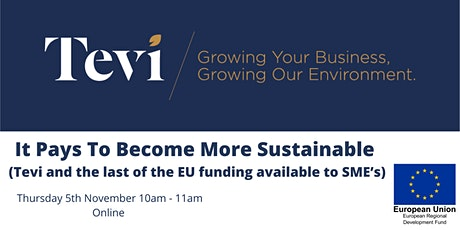 Tevi - It pays to become more sustainable tickets