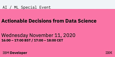 Actionable Decisions from Data Science tickets