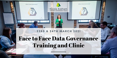 Getting Started in Data Governance - March 2021 tickets