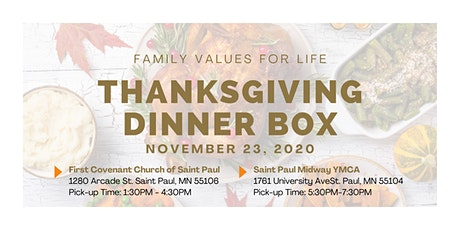 2020 Thanksgiving Box Registration tickets