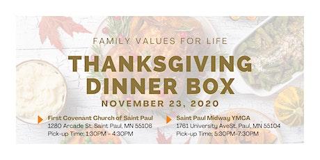 2020 Thanksgiving Box Registration tickets