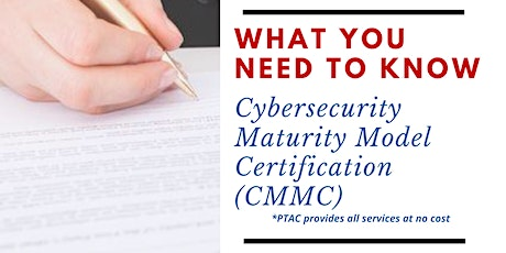 Cybersecurity Maturity Model Certification (CMMC): What you need to know tickets