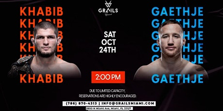 UFC 254 Watch Party: KHABIB VS GAETHJE tickets