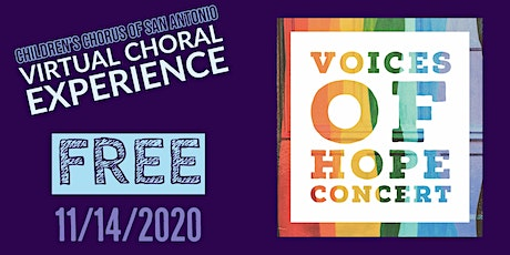 CCSA Voices Of Hope Concert tickets