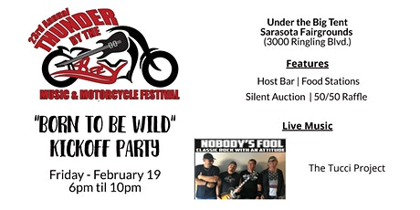 """Born To Be Wild"" Kickoff Party tickets"