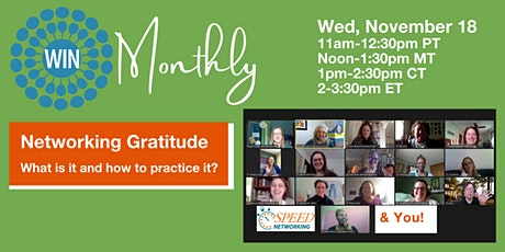 Networking Gratitude: What is it and how can we practice it? tickets
