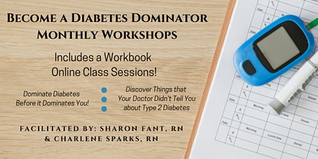 Become A Diabetes Dominator Workshop tickets